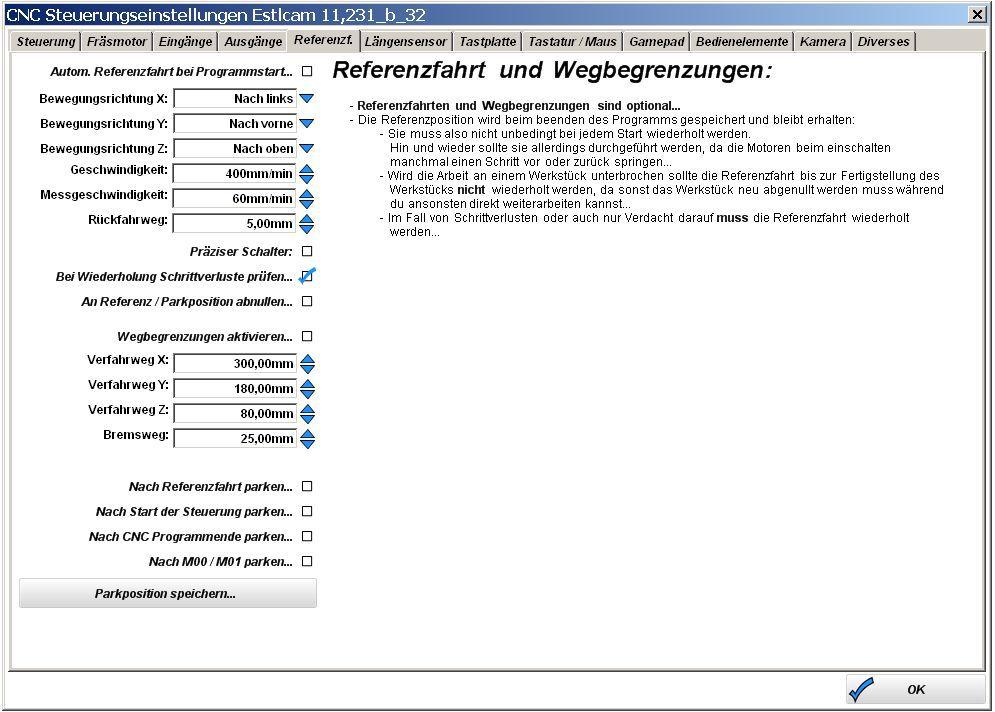 Estlcam-CNC-Steuerungseinstellung-Steuerung